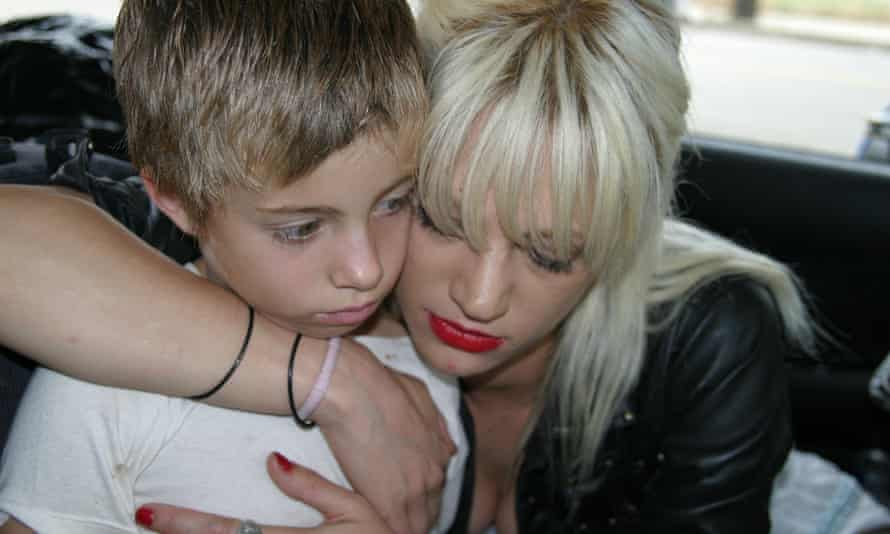 Jimmy Bennett and Asia Argento in 2004 film The Heart is Deceitful Above All Things.