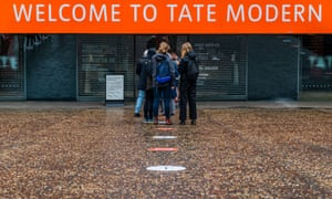 The Tate Modern re-opens after the Coronavirus lockdown eases again., Tate Modern, London, UK - 27 Jul 2020