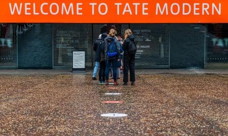 The Tate Modern re-opens after the Coronavirus lockdown eases again., Tate Modern, London, UK - 27 Jul 2020