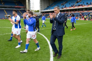 Blackburn Rovers manager Tony Mowbray will hope for a better season in League One.