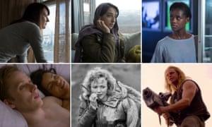 The best of Black Mirror, season four. Clockwise from top left: Arkangel, Crocodile, Black Museum, USS Callister, Metalhead, and Hang the DJ.