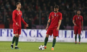 Cristiano Ronaldo was powerless to prevent the European champions falling to a shock 3-0 defeat to the Netherlands on Monday.