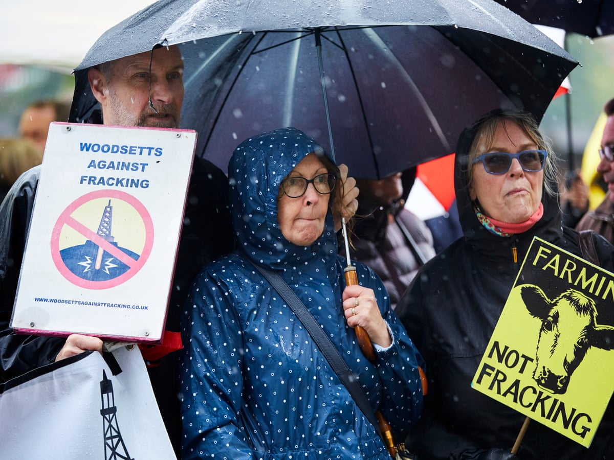 Cabinet Office Ignores Court Order To Release Secret Fracking Report Fracking The Guardian