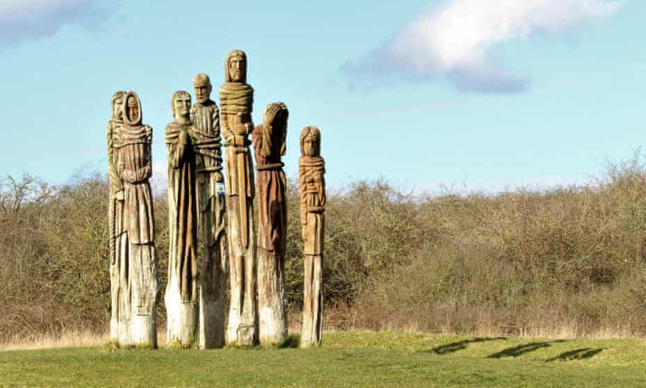 'An imposing presence' ... Robert Koenig's After the Uprising at Wat Tyler Country Park, Essex.