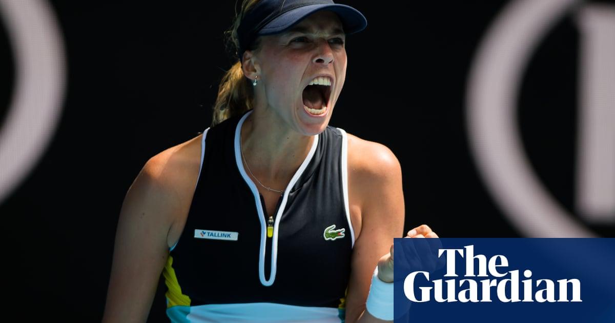 Kontaveit joins Halep and Muguruza in Australian Open quarter-finals