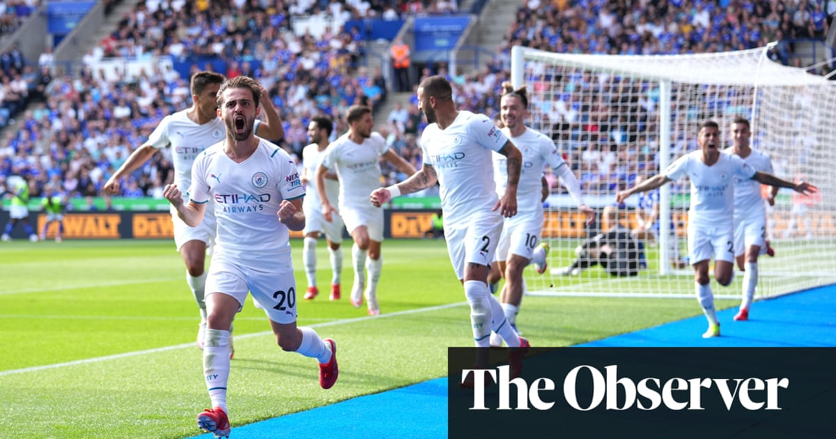 Bernardo Silva earns Manchester City hard-fought victory against Leicester