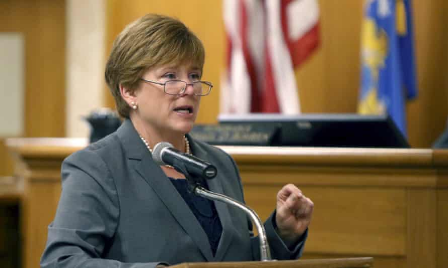 Maura McMahon makes a closing argument in the case of Anissa Weier.