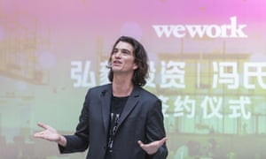 Adam Neumann, the founder of WeWork. A planned share sale was pulled after investors balked at its huge losses.