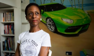 Patience Agbabi, poet and author, photographed at her home in Kent