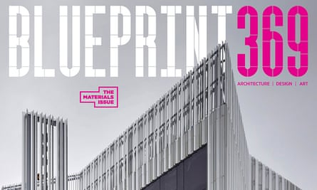 Detail of the cover of Blueprint 369, the final print edition of the magazine.