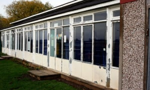 A crumbling primary school building in Coventry.