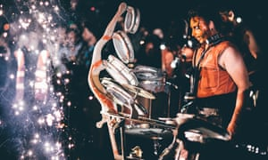 The Danbor Talka/Clash of Drums show at 2016's Freedom Festival