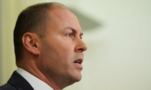 Federal Treasurer Josh Frydenberg speaks to the media during a press conference in Melbourne, Tuesday, June 4, 2019. The Treasurer is calling on all banks to pass on the full interest rate cut handed down by the RBA. (AAP Image/Stefan Postles) NO ARCHIVING