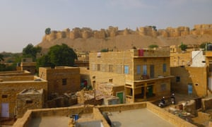 Jaisalmer rooftops, India