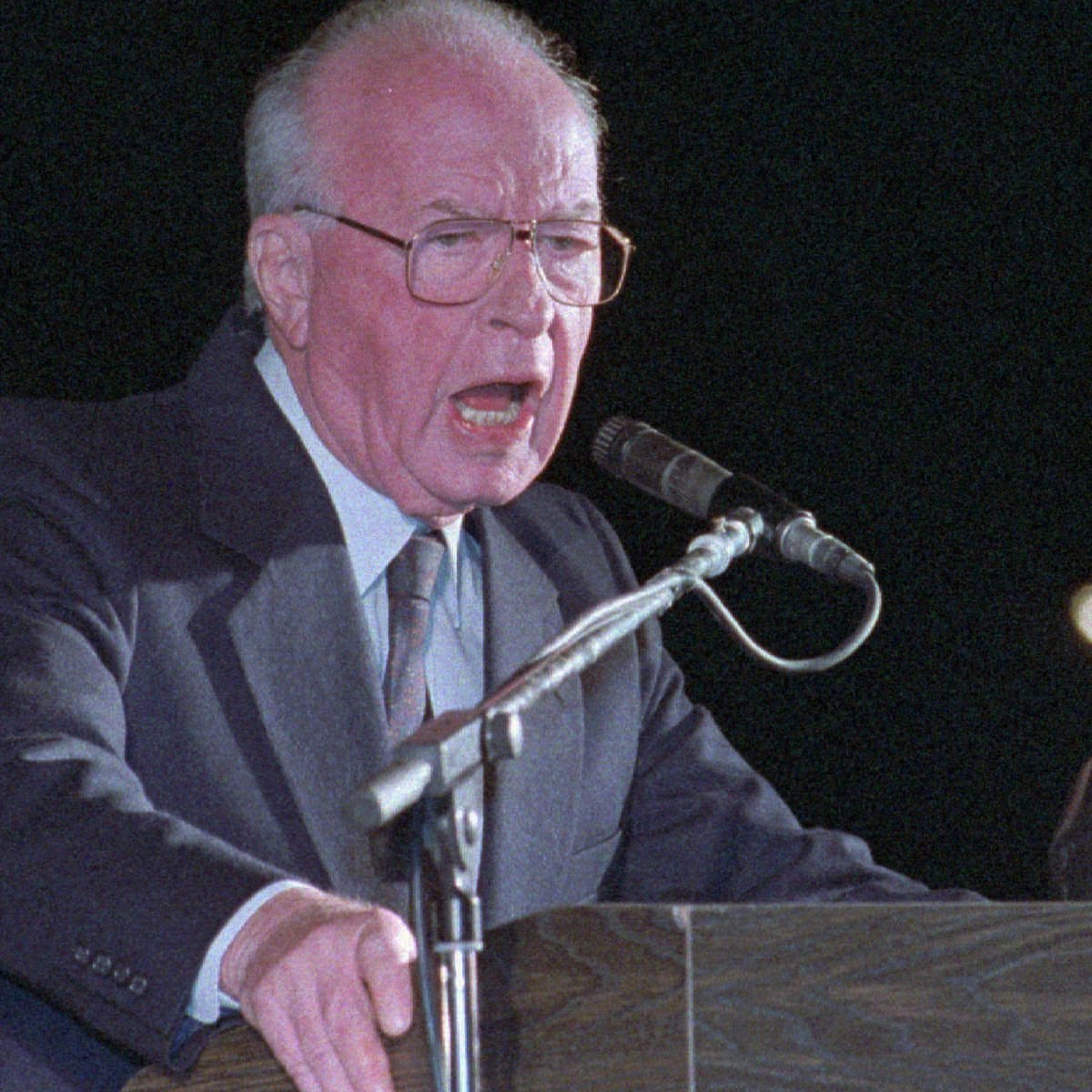 Israel's Yitzhak Rabin assassinated at peace rally - archive, 1995 | Middle  East and North Africa | The Guardian