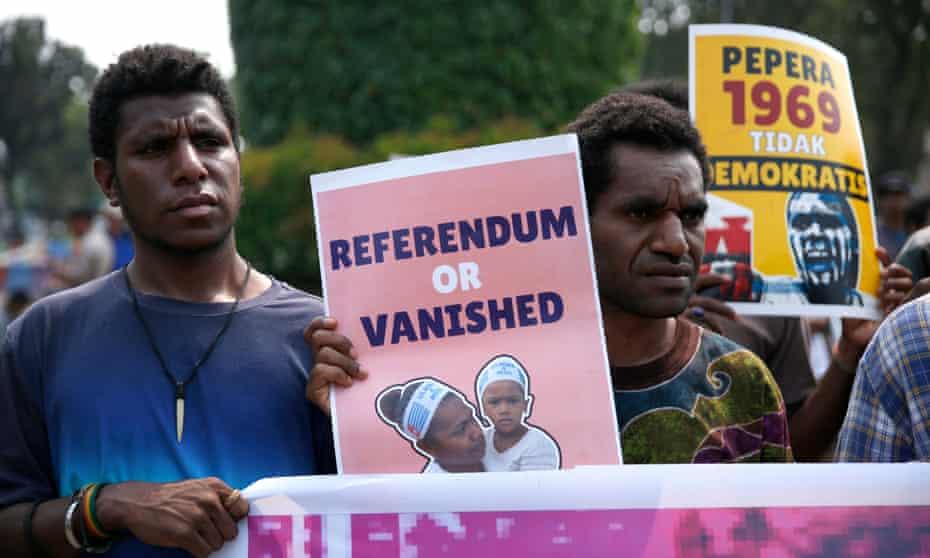 West Papuan activists