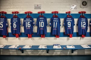 Pre-season is over and in the home dressing room at Cowdenbeath's Central Park the kits are carefully placed, ready for the upcoming season.