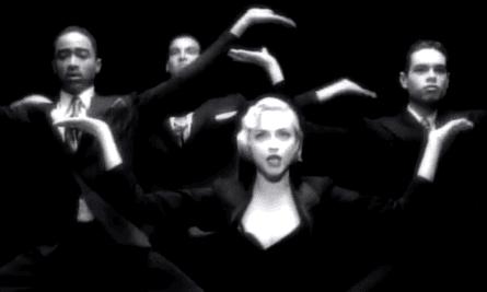 لحظه جریان اصلی ... ویدیوی رسمی Vogue مدونا.