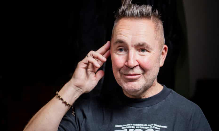'Maybe if I'd thrown chairs around' … Nigel Kennedy.