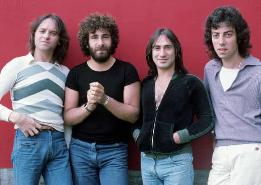 'You can't say that!' … from left, Eric Stewart, Kevin Godley, Lol Creme and Graham Gouldman.