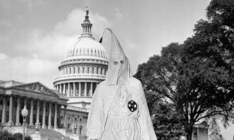 The US government destroyed the Ku Klux Klan once. It could do so again