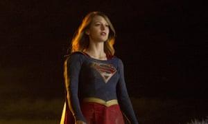 … Melissa Benoist in Supergirl.