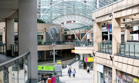 The Trinity Leeds shopping centre