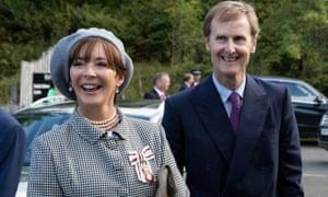 The Duke and Duchess of Northumberland.