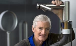 Sir James Dyson at his company's current headquarters in Malmesbury, Wiltshire.