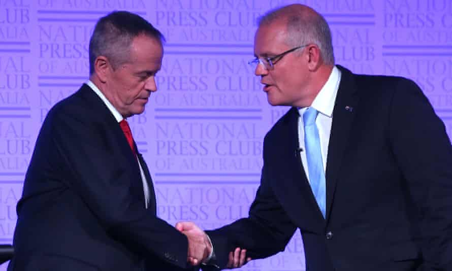 Going into the Australian federal election, Bill Shorten's Labor party has a coherent policy program compared with the thin offering from Scott Morrison's Liberals.