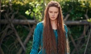 Daisy Ridley in Ophelia.