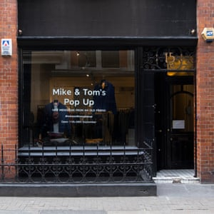 Mike & Tom's It's not just any pop-up shop – it's a Marks and Spencer's pop-up shop. Named after the high-street stalwart's founders Michael Marks and Thomas Spencer, this savvy little shop takes M&S menswear off the shop floor and shows it in a whole new light. It's open now until Saturday 28 September. marksandspencer.com