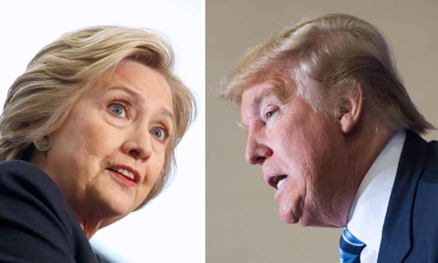Donald Trump has spoken of building a winning coalition by wooing so-called 'Reagan Democrats' while the 'Never Trump' wing of the Republican party could be open to backing Hillary Clinton.