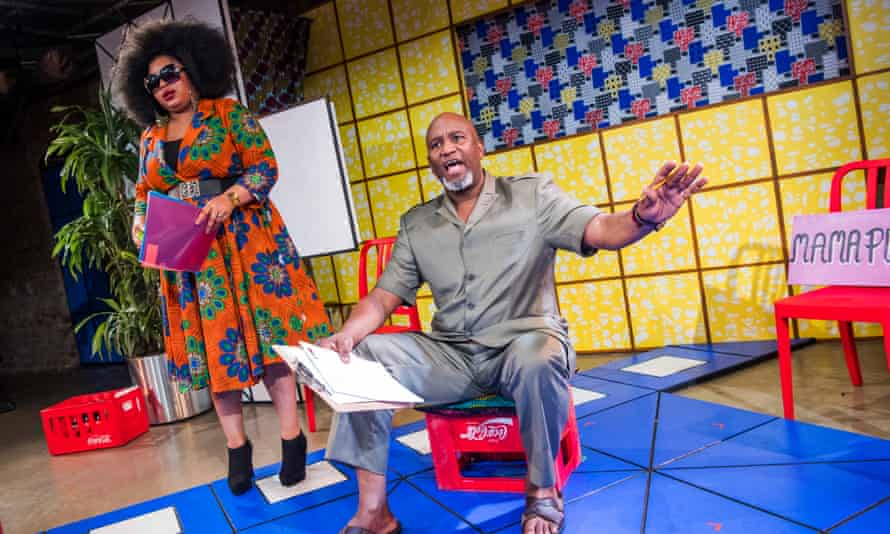 Nothing if not direct … New Nigerians, with Gbemisola Ikumelo and a stand-out Patrice Naiambana.