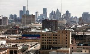 Downtown Detroit is seen in 2013.