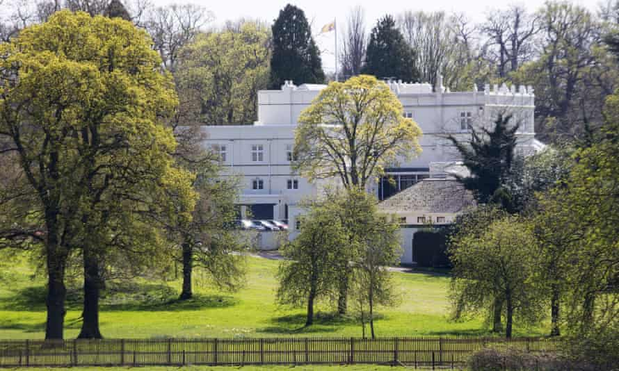 Royal Lodge in Windsor Great Park.