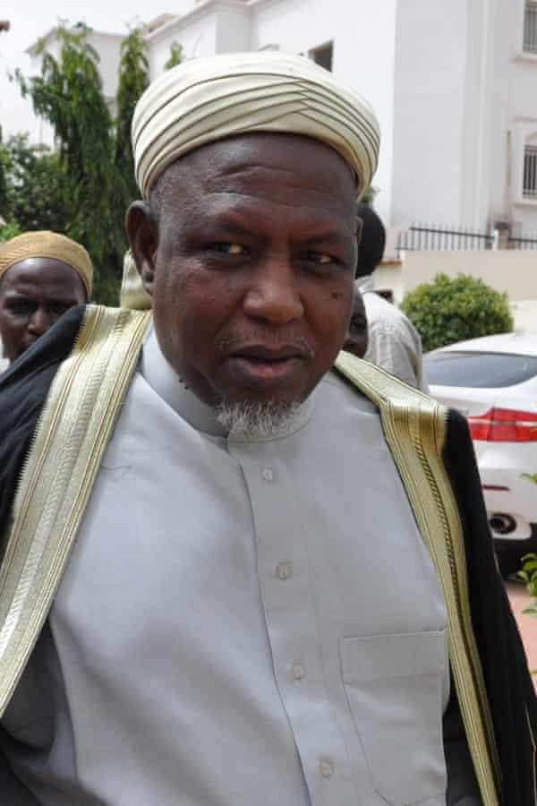 Mahmoud Dicko, president of the High Islamic Council of Mali