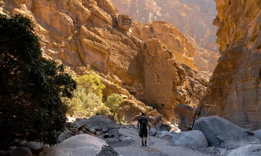 Nakhur Gorge, Wadi Ghul, Oman.