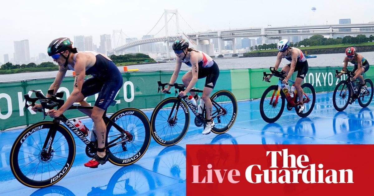 Tokyo Olympics 2020: women's triathlon, swimming, tennis and more – live!