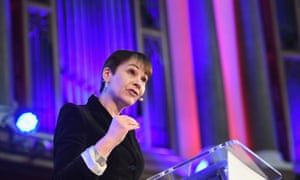 Caroline Lucas speaking during a convention on a second EU referendum at the Emmanuel Centre in central London today.