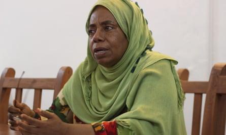 Munira Said, the coordinator for the Reclaim Women's Space team