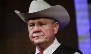 Roy Moore, asking for money, said: 'Gays, lesbians, and transgenders have joined forces with those who believe in abortion, sodomy, and destruction of all that we hold dear.'