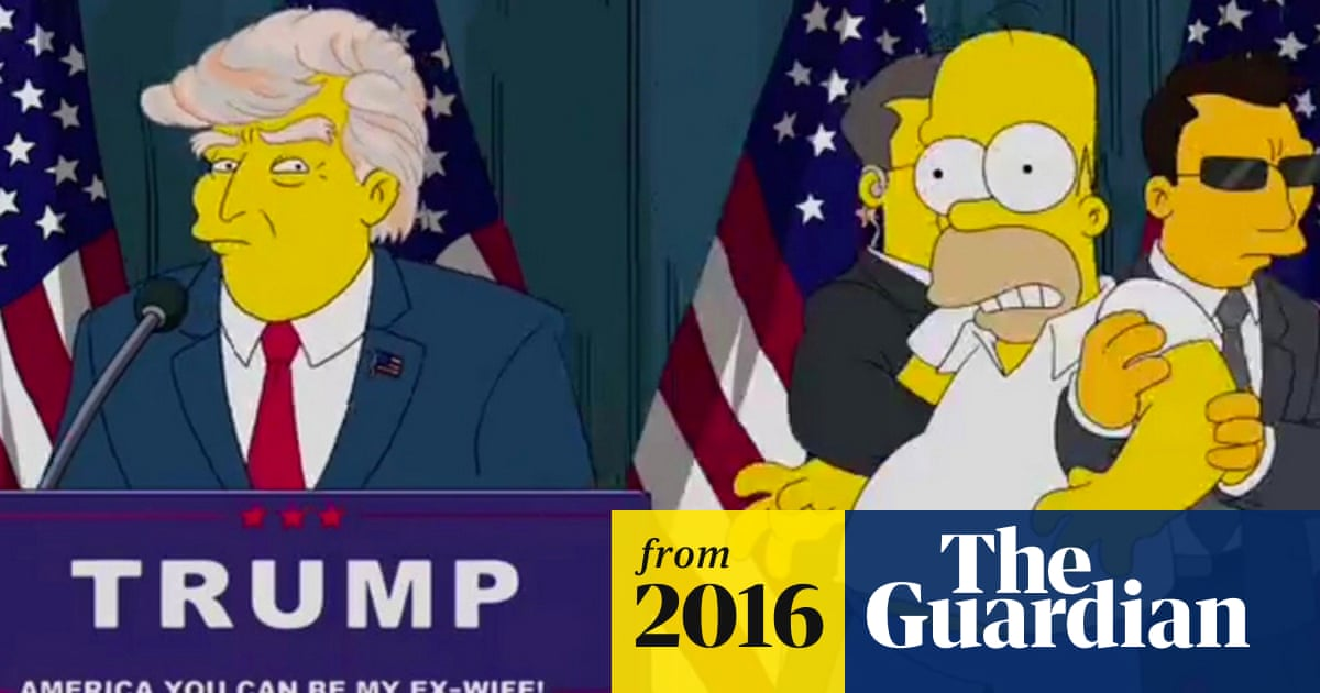 Simpsons Writer Says President Trump Episode Was Warning To
