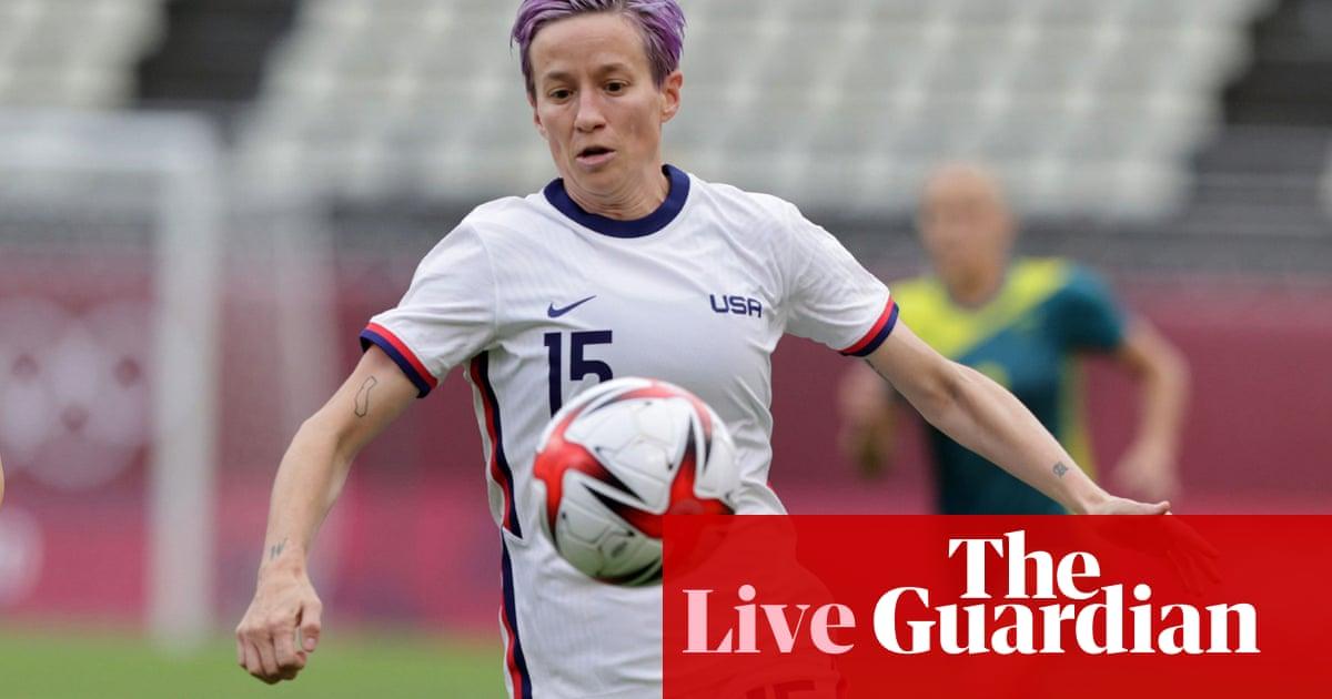 USA v Australia: Tokyo Olympic Games women's football – live!