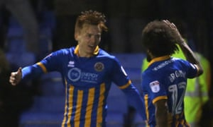 Jon Nolan got the decisive goal as Shrewsbury beat Oldham
