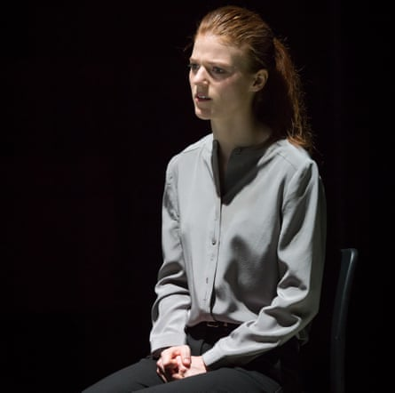 'Impressively charts Emma's dissolution' … Rose Leslie in Contractions.