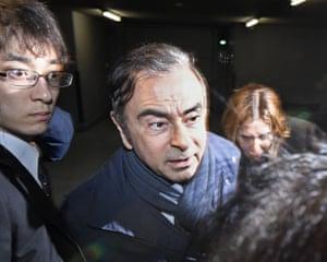 Tokyo, Japan: Former Nissan chairman Carlos Ghosn