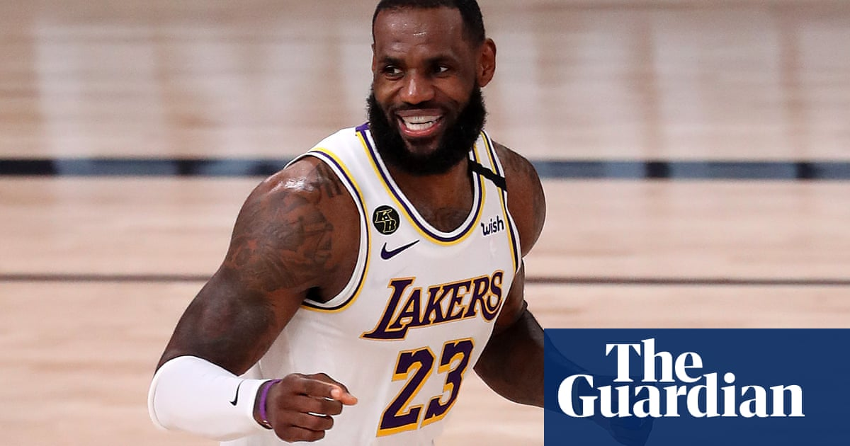 The most notable US athletes of 2020: No 1 – LeBron James, a man for all seasons