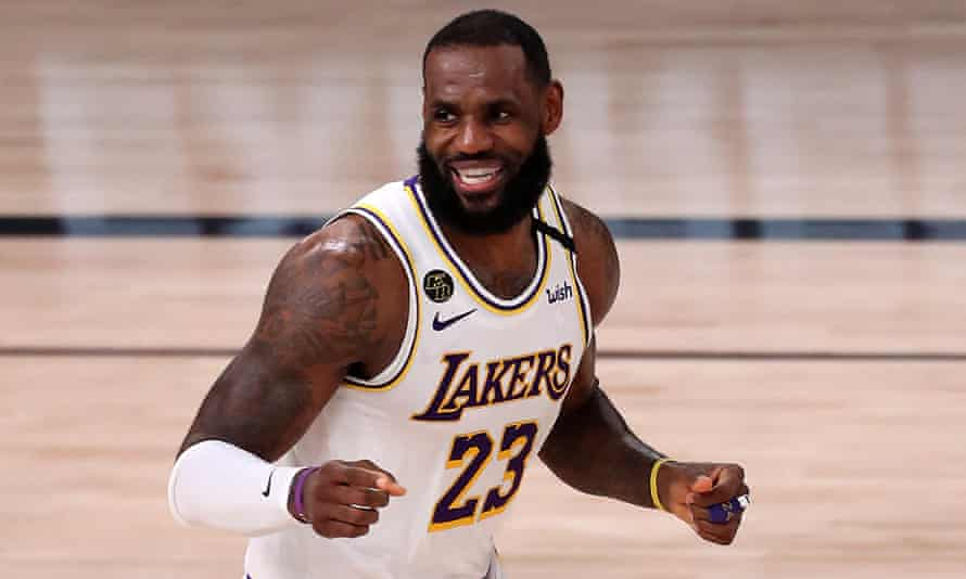 The Most Notable Us Athletes Of 2020 No 1 Lebron James A Man For All Seasons Lebron James The Guardian