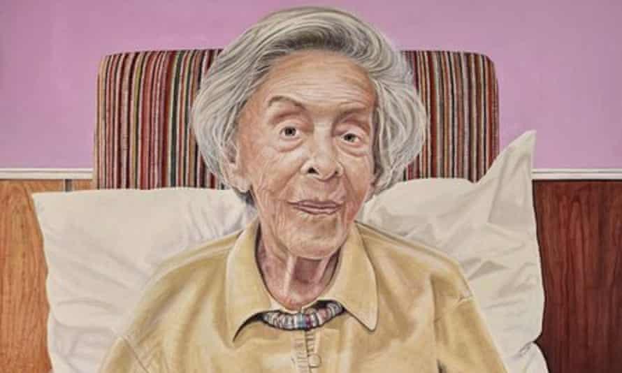 Judy Cassab as painted by Archibald Prize 2015 finalist Filippa Buttitta.